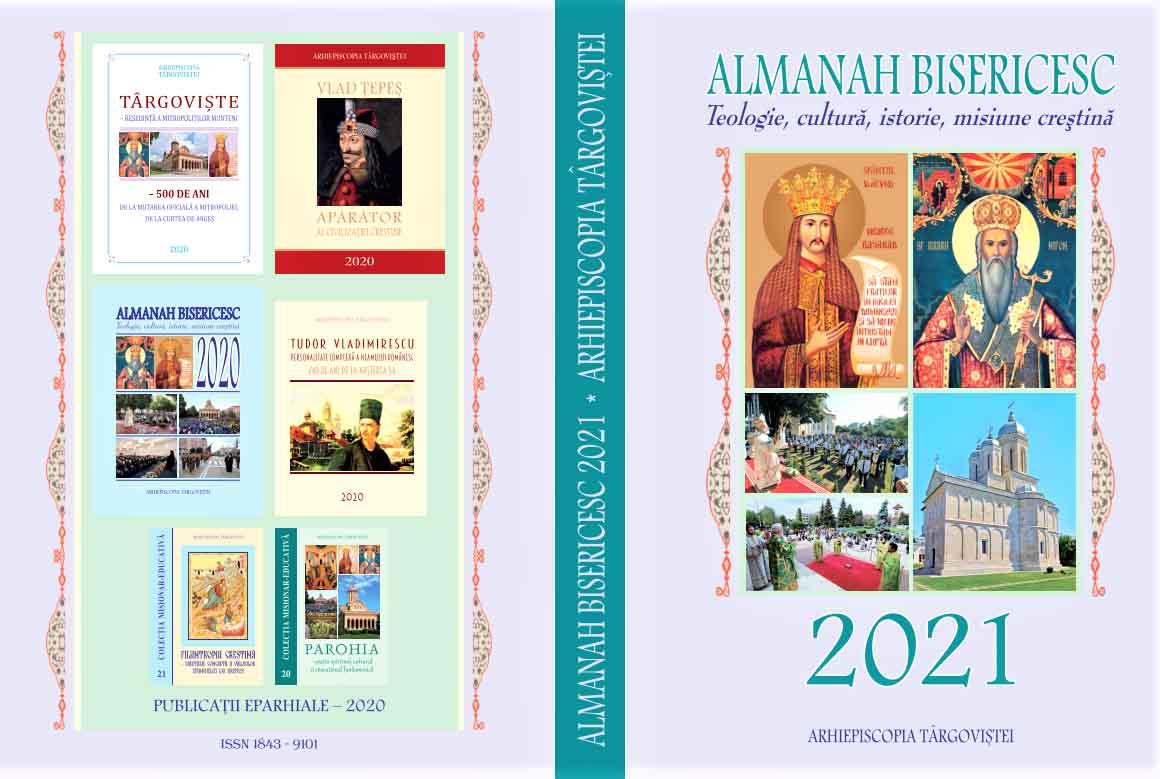 A apărut Almanahul bisericesc pe anul 2021