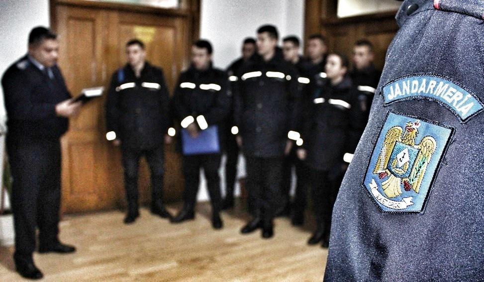 60 de tineri dâmbovițeni vor să devină jandarmi