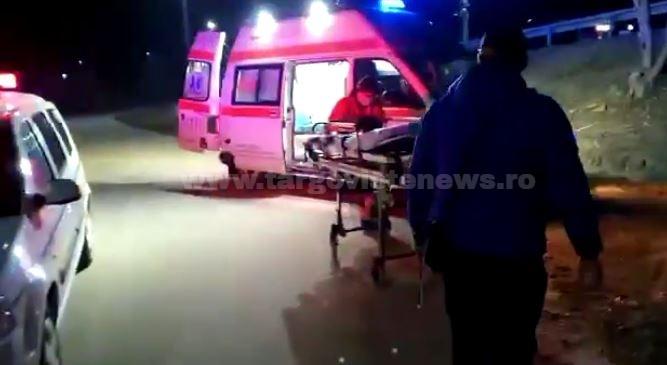Tânăr de 22 de ani, rănit grav de o maşină, seara trecută, la Valea Lungă