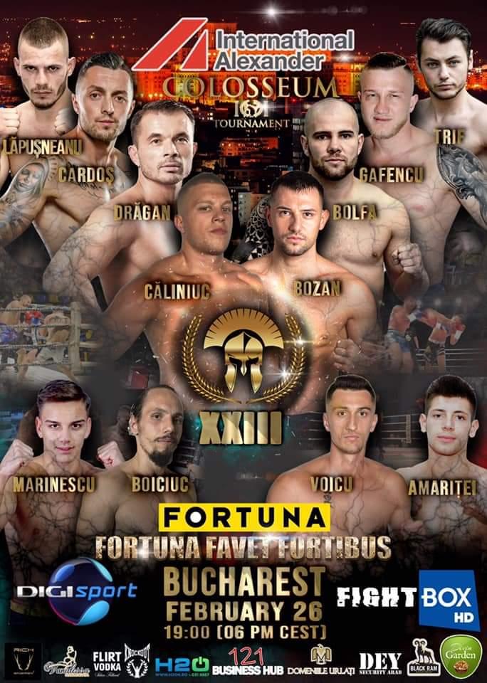 """Spectacol în ring! Viper Sport Găeşti luptă în forţă la """"COLOSSEUM TOURNAMENT"""""""