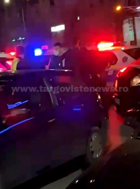 5 adolescenţi, amendaţi de poliţişti după ce s-au înjurat în centrul oraşului Târgovişte