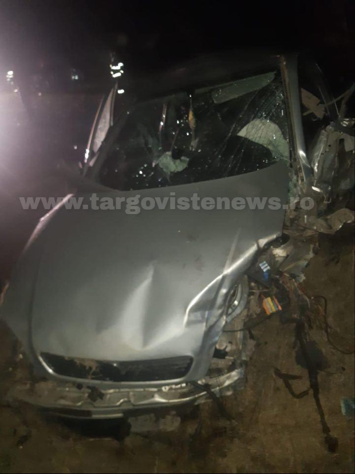 Accident grav, la Bilciureşti. Doi şoferi au fost răniţi