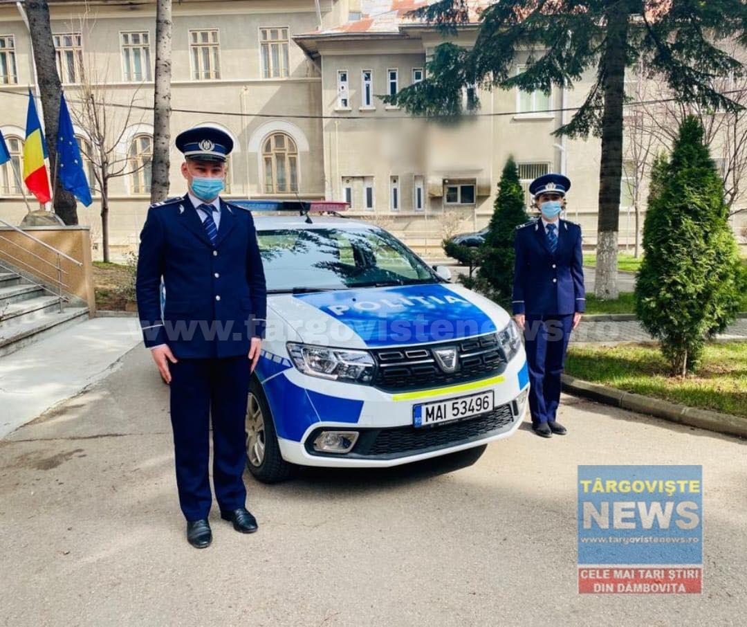 15 poliţişti din Dâmboviţa au fost înaintaţi în grad, de Ziua Poliţiei Române