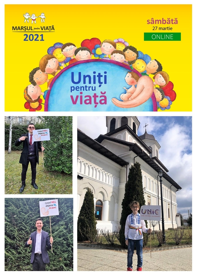 """""""Uniți pentru viață"""", sâmbătă, 27 martie, live pe Facebook"""