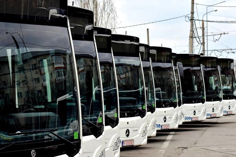 Încă 6 autobuze Mercedes-Benz Citaro Hybrid au ajuns la Târgoviște