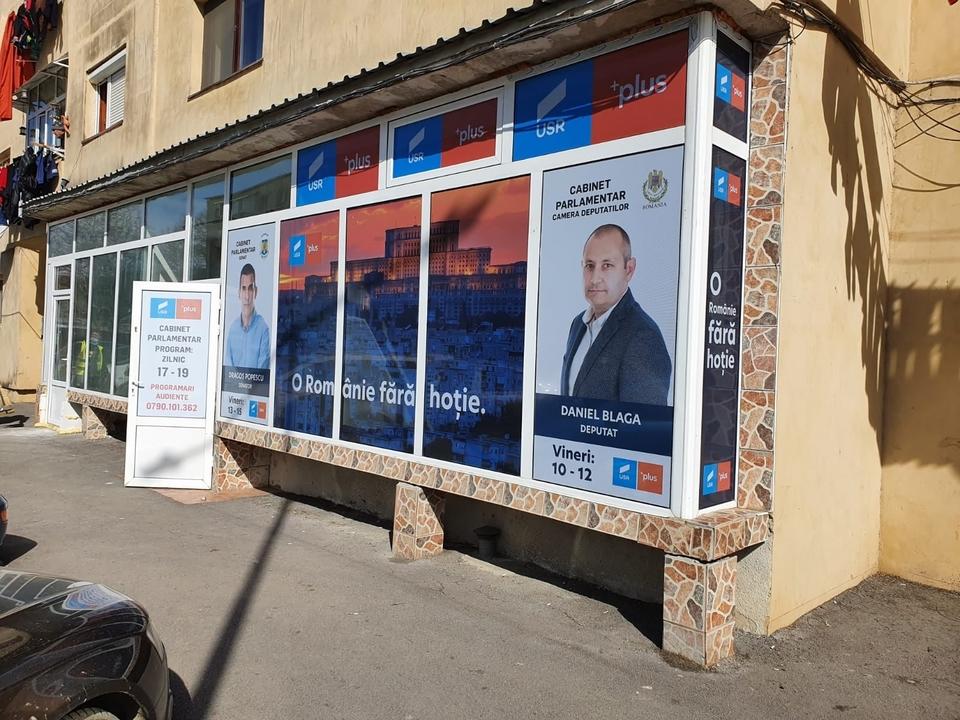 Parlamentarii USR PLUS de Dâmboviţa şi-au deschis cabinet şi la Moreni