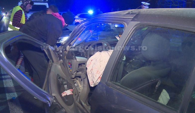 """Accident înfiorător, aseară, la Bâldana. A intrat cu mașina în TIR după ce i s-a făcut rău la volan. """"Nu frână, nimic"""""""