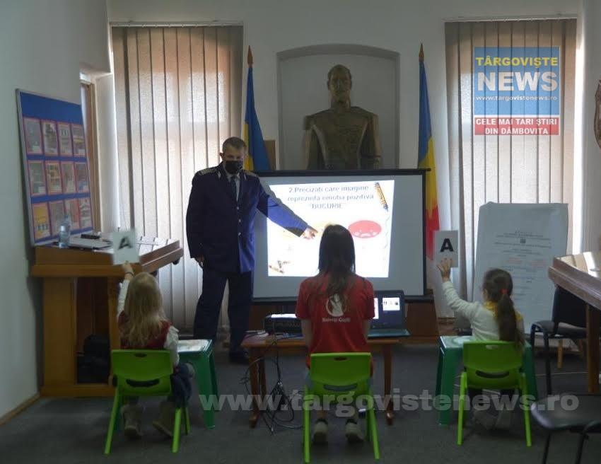 Târgoviște –  Concursuri despre educația rutieră, comportamentul în societate, drepturile și îndatoririle copilului
