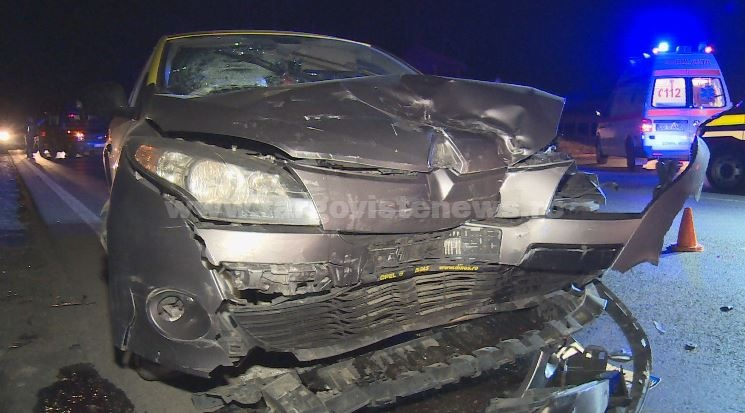 Un taximetrist a lovit mașina unor turci, la Mija. Cum își explică faptul că nu i-a văzut
