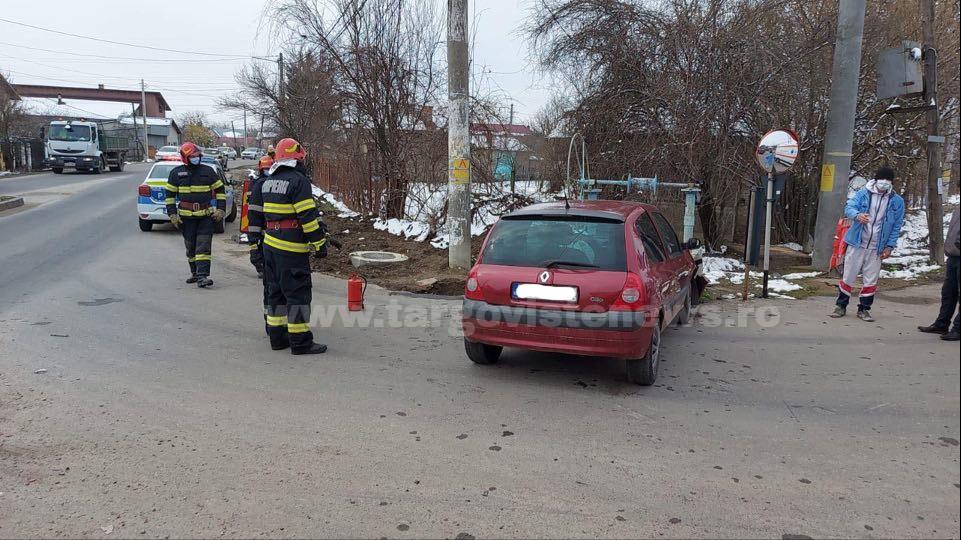 Accident cu persoană încarcerată, la Valea Voievozilor