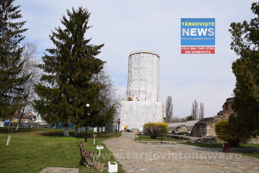 Complexul Național Muzeal Curtea Domnească din Târgoviște se află într-un vast proces de restaurare și conservare