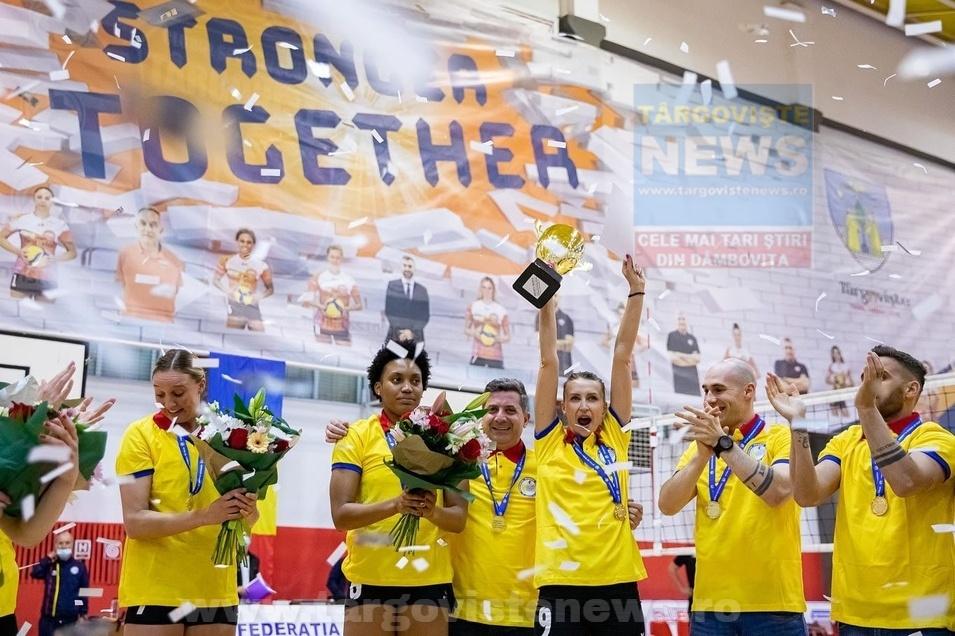Târgoviște are, din nou, o echipă campioană a României la senioare!