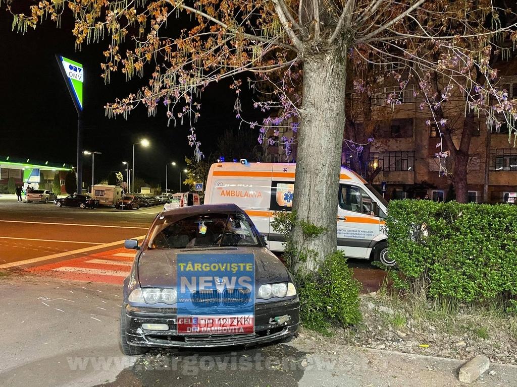 O tânără, de 33 de ani, a fost omorâtă pe trecerea de pietoni, la Târgovişte