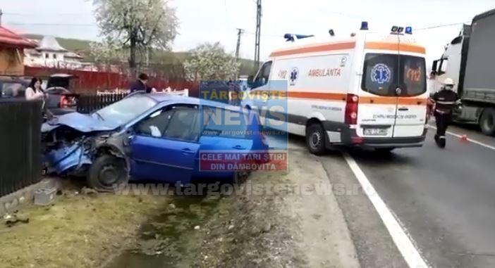 Accident cu 5 victime, la Adânca