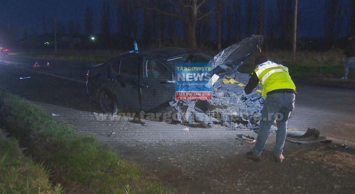 VIDEO – Declaraţiile martorilor după accidentul cumplit de la Aninoasa. 4 tineri au fost transportaţi la spital