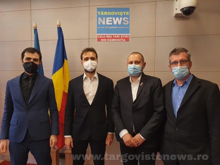 """Deputatul Daniel Blaga, liderul USR PLUS Dâmboviţa: """"Am avut privilegiul de a întâlni un investitor cât se poate de serios"""""""