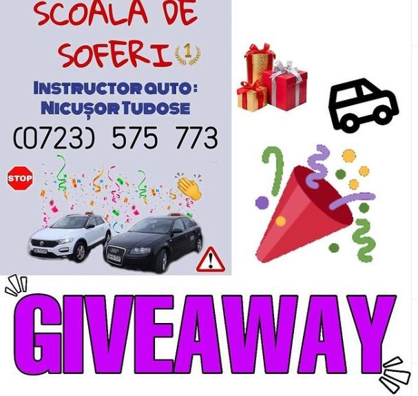 Concurs – Câştigă Şcoala de şoferi, GRATUIT!