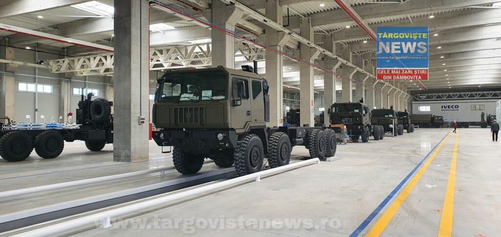 IVECO va produce, la Petreşti, peste 2900 de camioane, de 16 tipuri, cu cabine blindate și neblindate