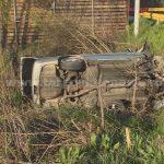 Urmărire ca-n filme, pe DN 71, la Conţeşti. Un şofer prins cu 182 de km la oră, în localitate, a fost fugărit de poliţişti şi a făcut accident