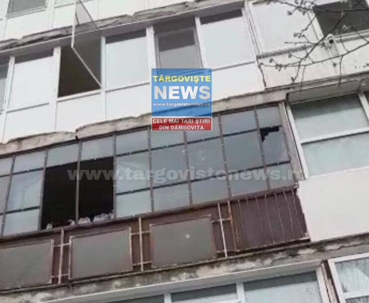 O femeie a căzut de la etajul 3 al unui bloc din Târgovişte