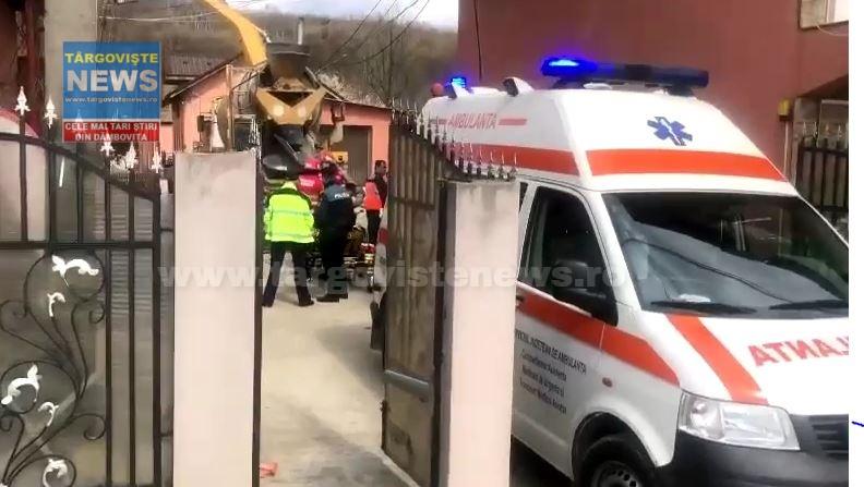VIDEO – Sfârşit tragic pentru un bărbat, de 42 de ani, la Voineşti, după ce i-a fost secţionată artera femurală