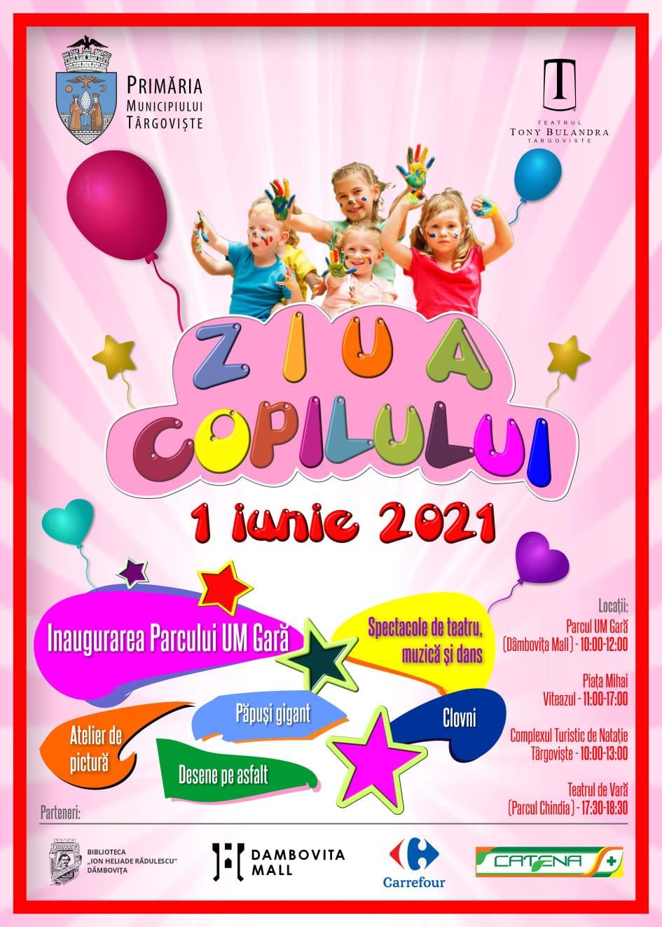 Festivalul AnimaȚie, de 1 iunie, la Târgoviște. Ce surprize îi așteaptă pe prichindei