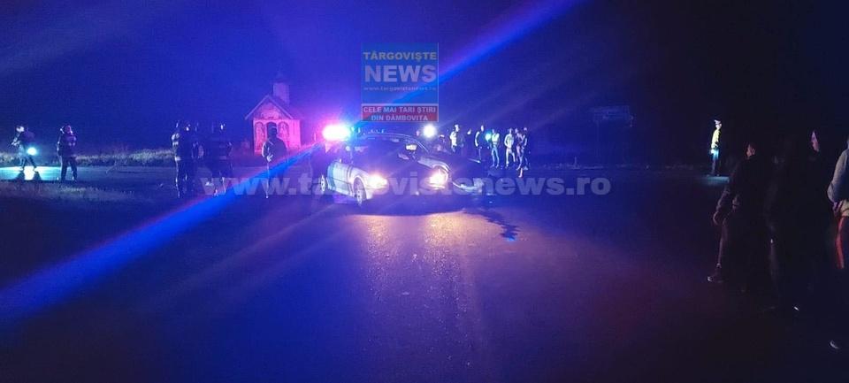 O şoferiţă, de 20 de ani, a intrat în două maşini, pe DN 71, la Ilfoveni