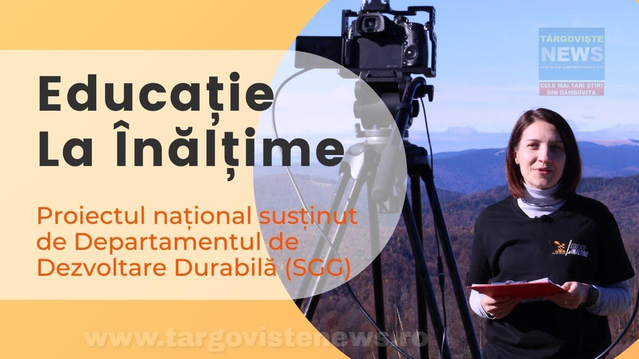 Educație la înălțime: lecție LIVE de la 1600 m altitudine, din Parcul Natural Bucegi, cu 30.000 de elevi