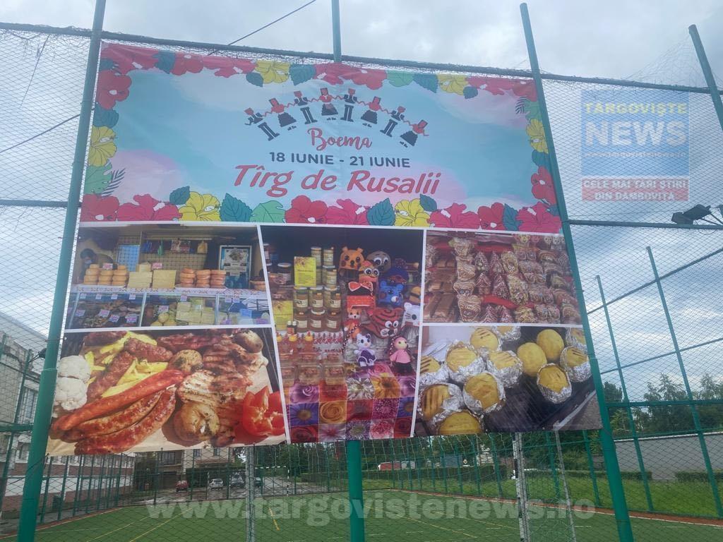 Târgovişte – Târg de Rusalii, la Sala Polivalentă. Nu rataţi expoziţia culinară cu plăcinte, baclavale, sărmăluţe la ceaun, bulz ciobănesc şi păstrămioară cu mămăliguţă!