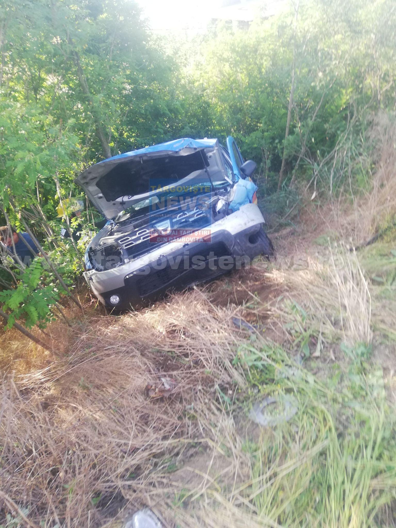 AZI-DIMINEAŢĂ: Accident cu 3 maşini, la Petreşti. Două persoane au fost rănite