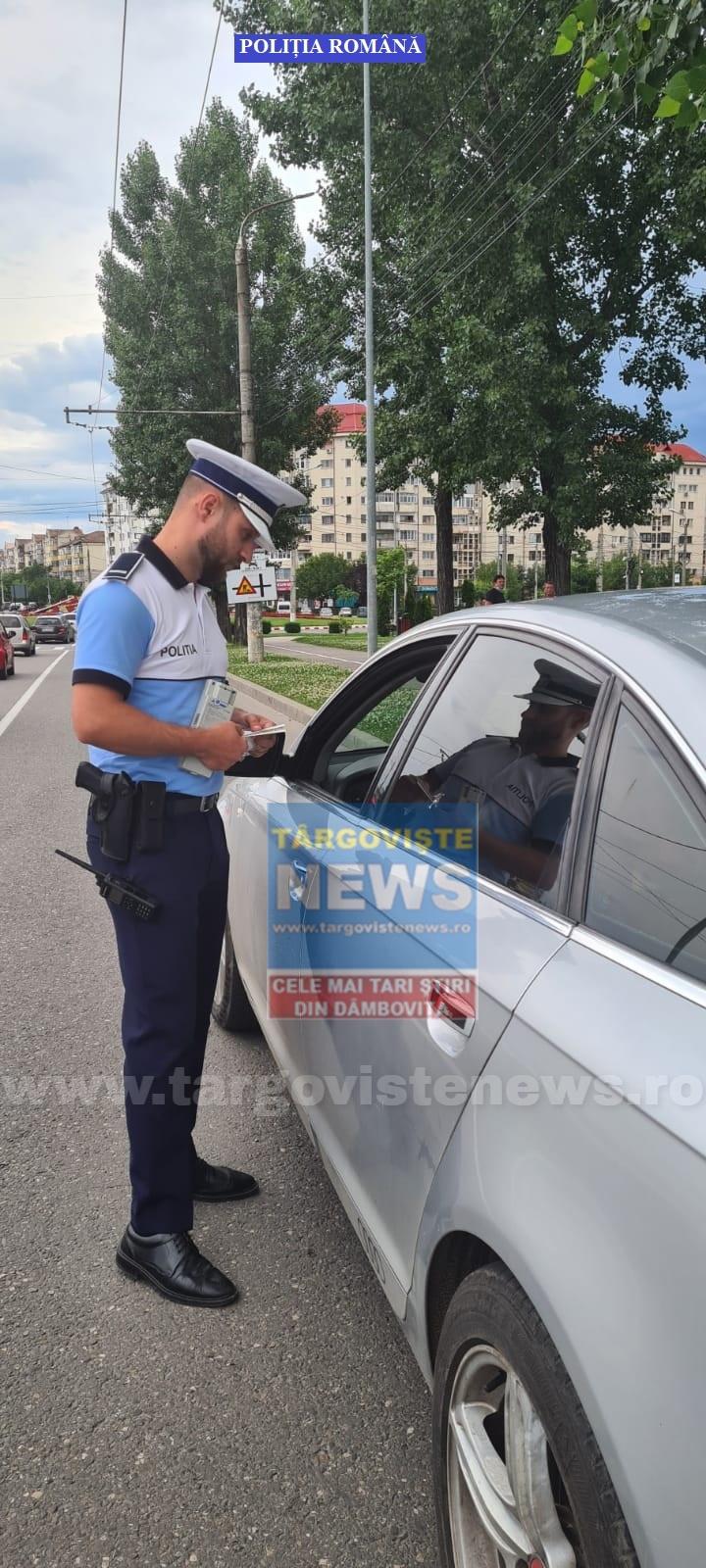 Zeci de şoferi s-au ales fără permis după ce au fost prinşi beţi sau drogaţi la volan