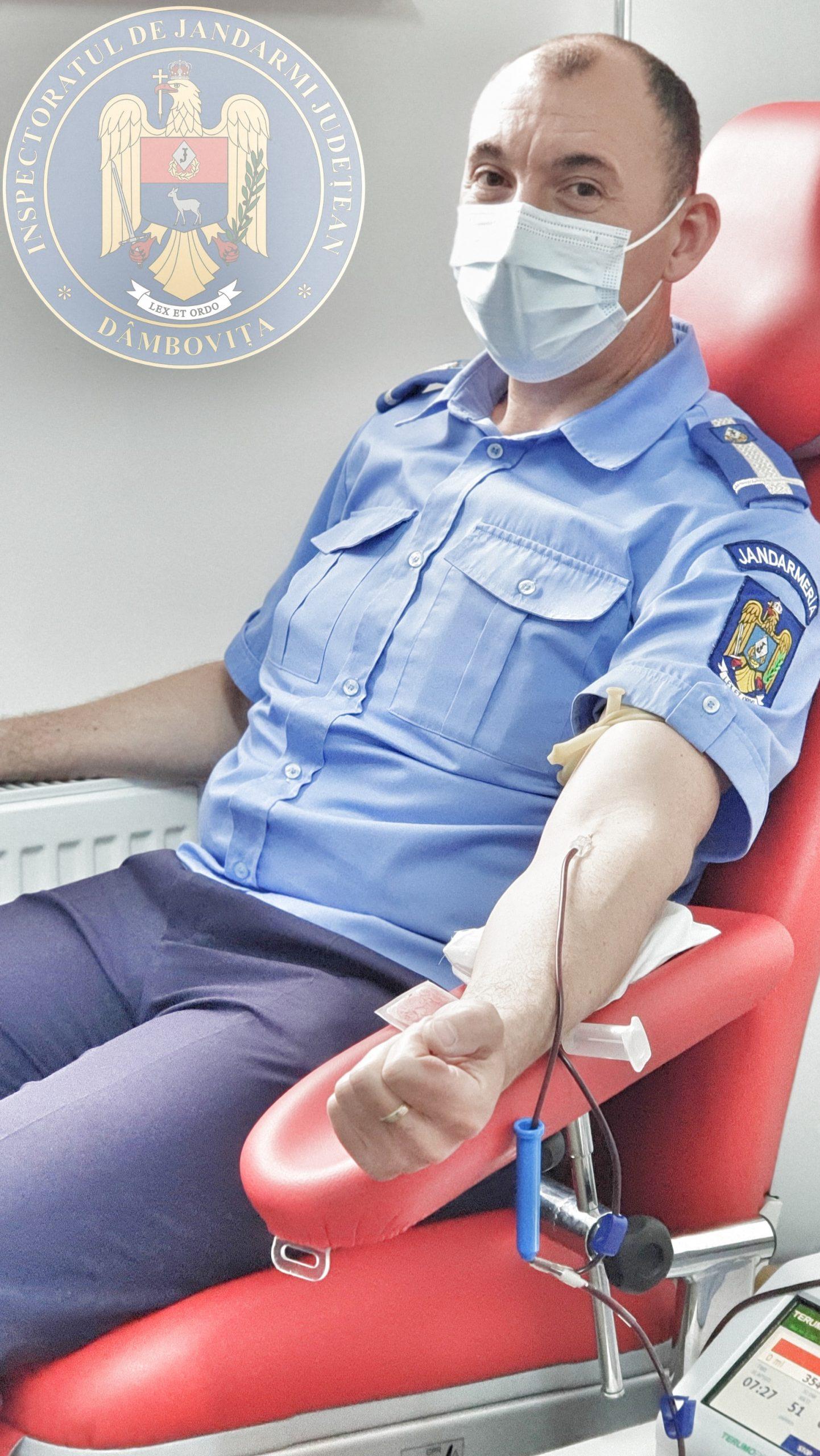 Donează sânge! Salvează o viaţă!