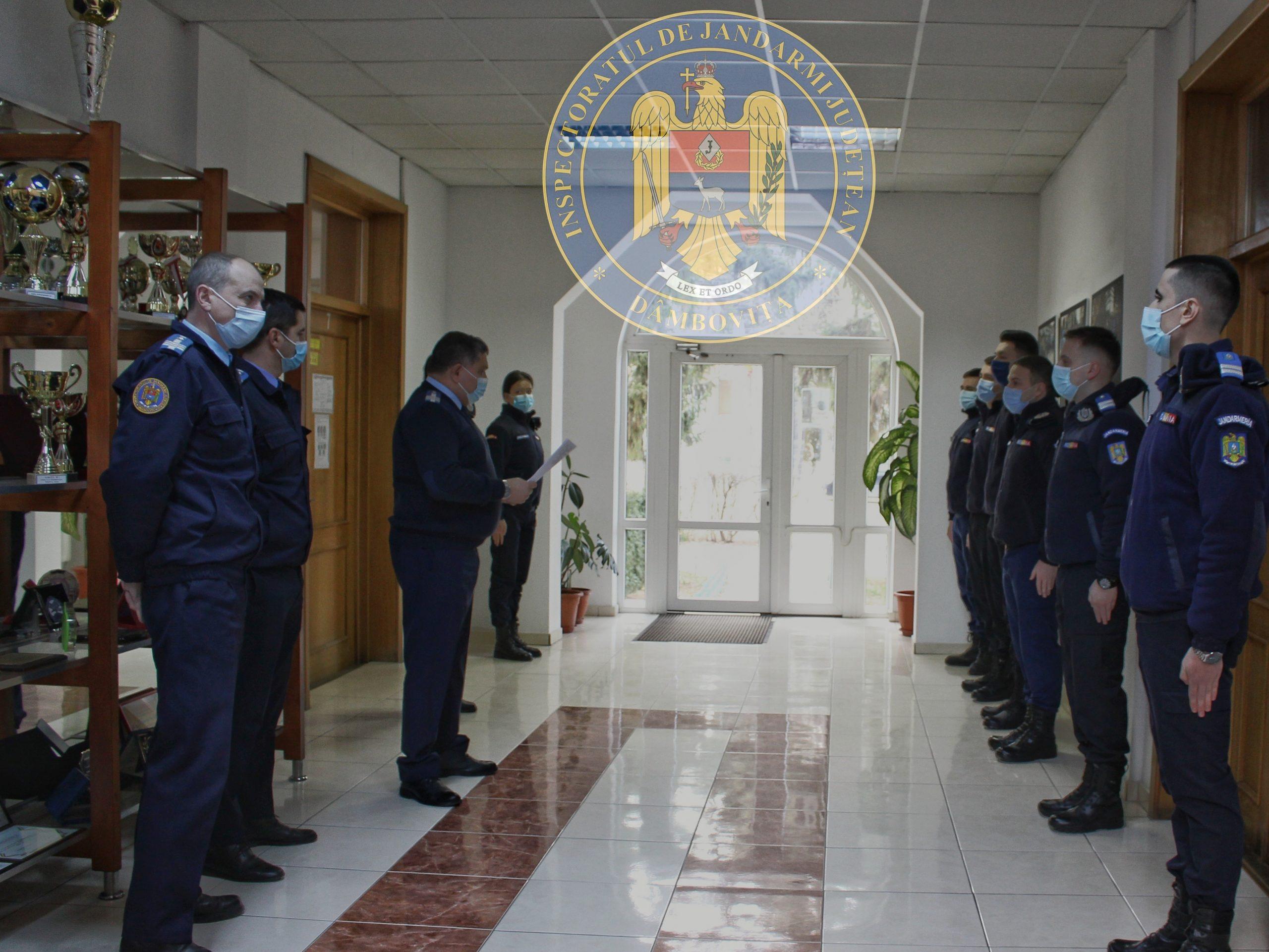 """Inspectoratul de Jandarmi Judeţean """"Mircea cel Bătran"""" Dâmboviţa recruteză candidaţi pentru Academie"""