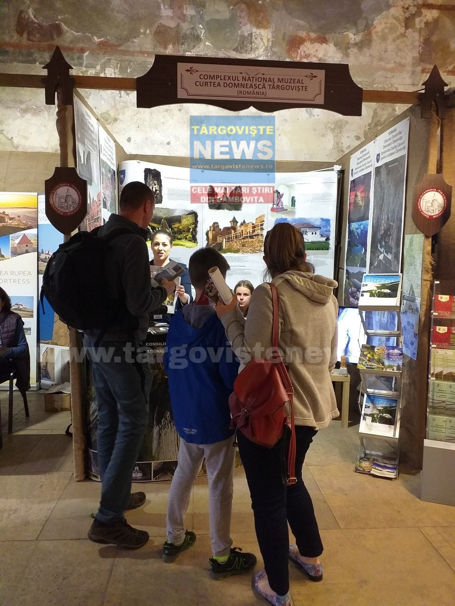 Obiectivele turistice din judeţul Dâmboviţa, promovate la Târgul European al Castelelor