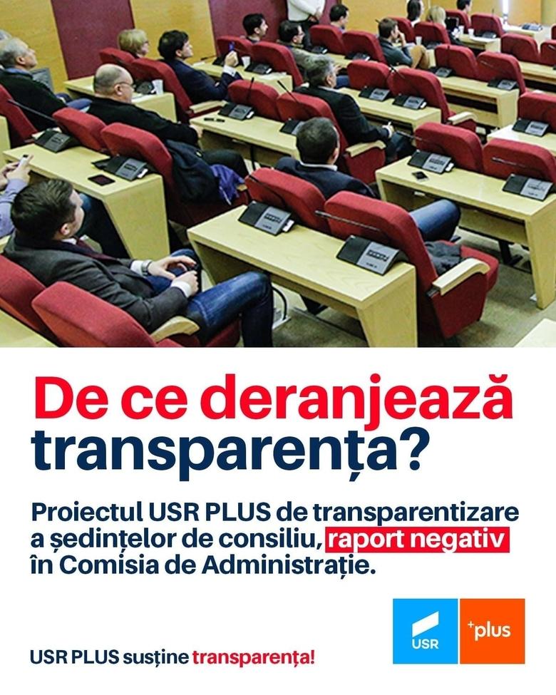 """Deputatul Daniel Blaga: """"De ce deranjează transparenţa?"""""""