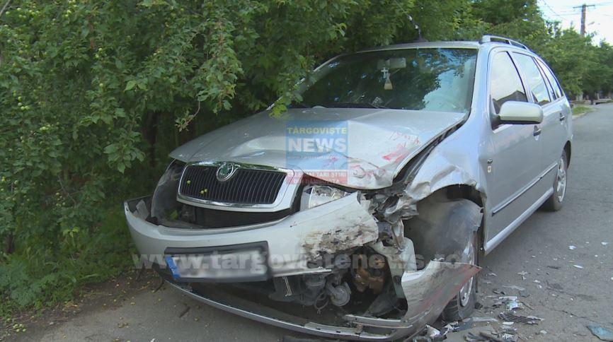 O femeie şi fiul ei, răniţi în accident, la Bucşani