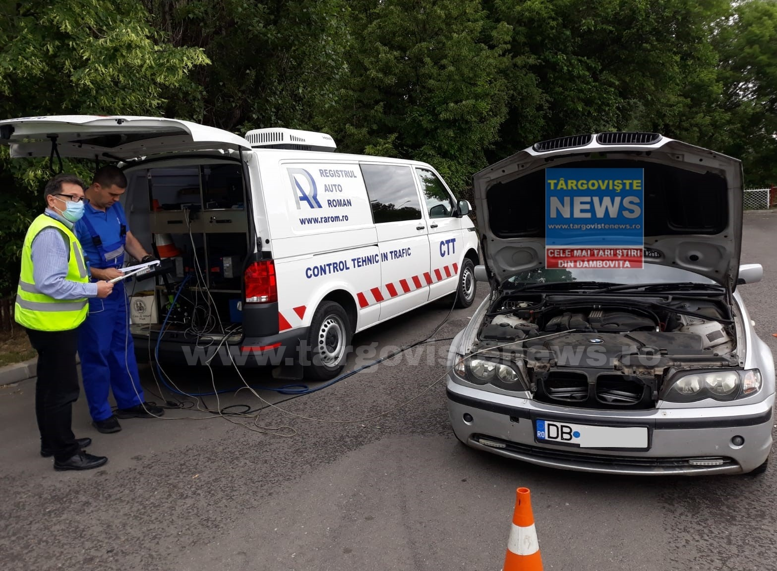 57 de maşini care prezentau pericol iminent de accident, descoperite în trafic de inspectorii RAR