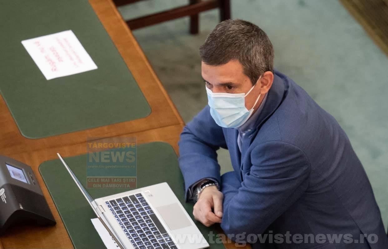 """Dragoş Popescu, senator USRPLUS de Dâmboviţa: """"Am votat împotriva propunerii legislative pentru modificarea și completarea Legii vânătorii și a protecției fondului cinegetic"""""""