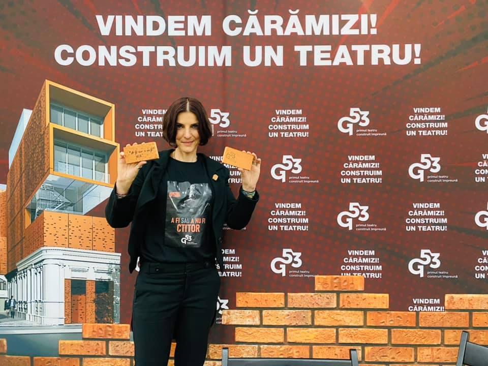 """Parlamentarii USRPLUS Dâmboviţa s-au alăturat proiectului pentru noul Teatru """"Grivița53"""". """"Cele mai importante lucruri în viață sunt cele pe care le faci, nu cele pe care le ai"""""""