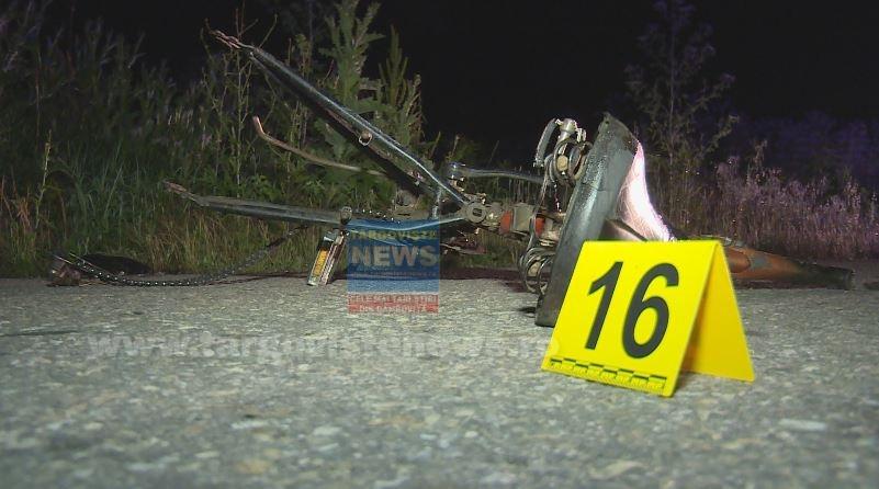 Accident mortal, azi-noapte, la Potlogi. Un tânăr de 38 de ani a fost spulberat de o maşină