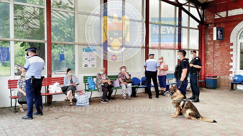 Controale în gara din Târgovişte