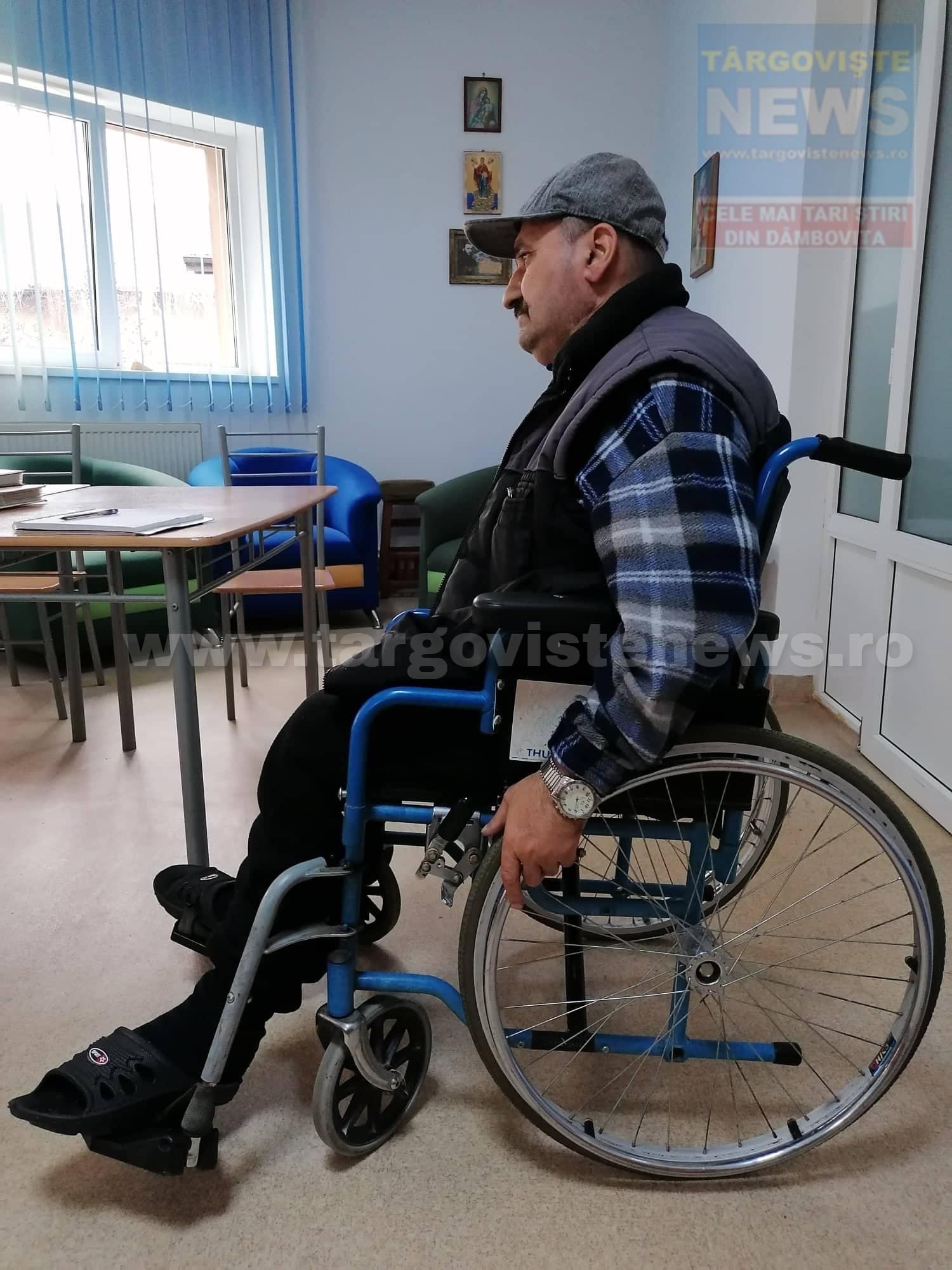 """Lovit de tren şi lăsat fără picioare, Costel Cizmarul nu se dă bătut. """"Mă rog în fiecare zi. Îi mulţumesc lui Dumnezeu că sunt şi aşa"""""""