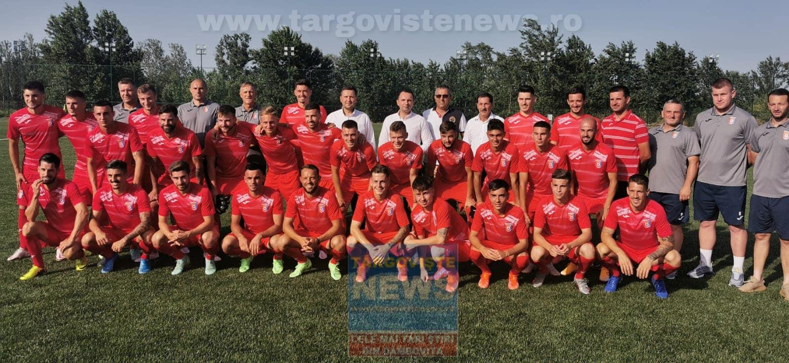 Chindia Târgovişte şi-a prezentat lotul cu care va evolua în Liga I
