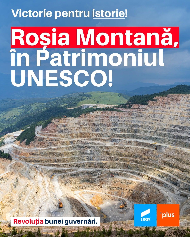 """Deputatul Daniel Blaga – """"Roșia Montană, cu toate minunile sale naturale, e recunoscută și protejată"""""""