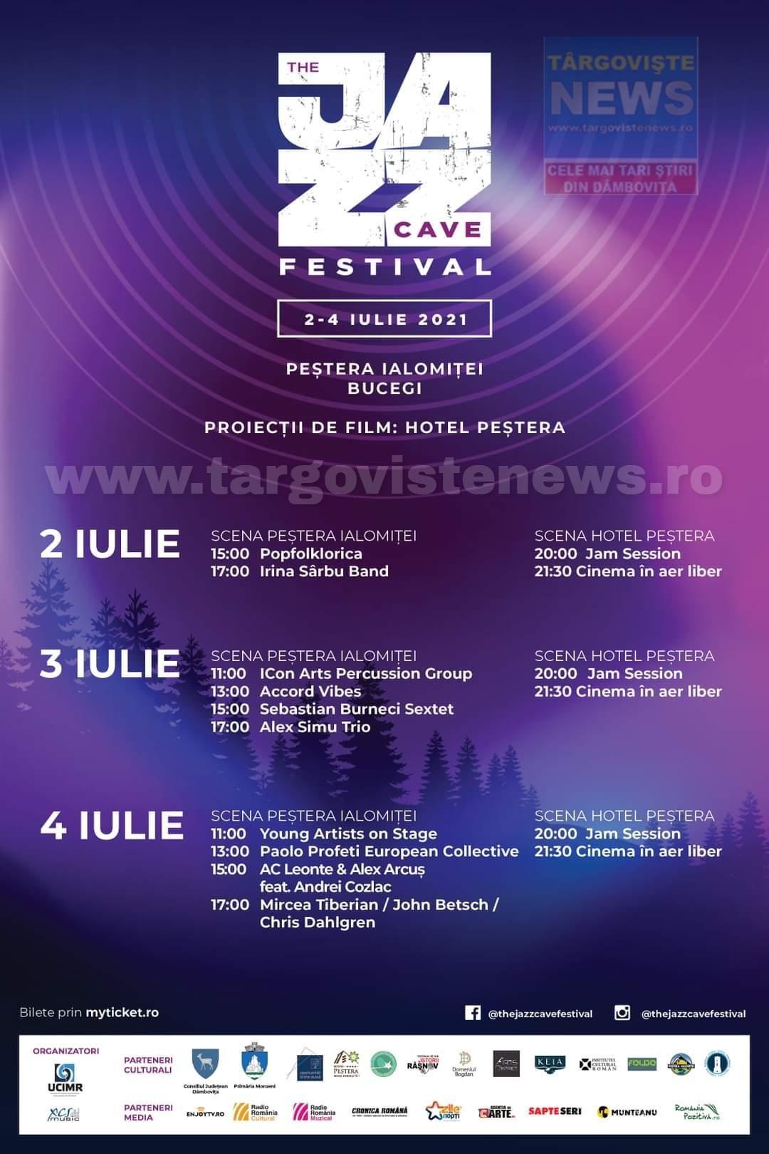 THE JAZZ CAVE FESTIVAL, ediția I, între 2 şi 4 iulie, în inima munților Bucegi, în Peştera Ialomiţei