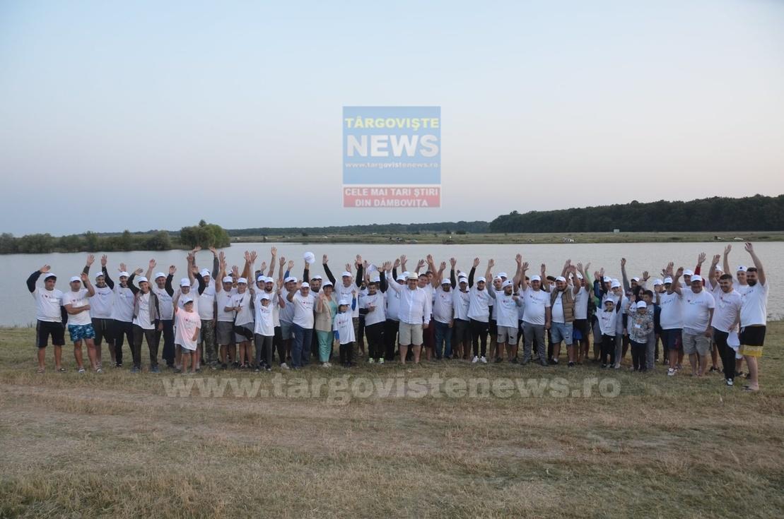 VIDEO – Concurs de pescuit la Săbieşti, în Răcari. Compeția care a adus laolaltă pescari din toată țara