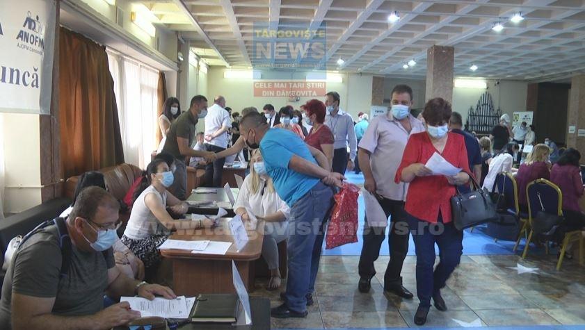 251 de dâmboviţeni au fost selectaţi în vederea încadrării în muncă, la Bursa locurilor de muncă