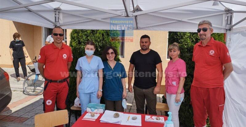Campanie de vaccinare mobilă în comuna Ulmi