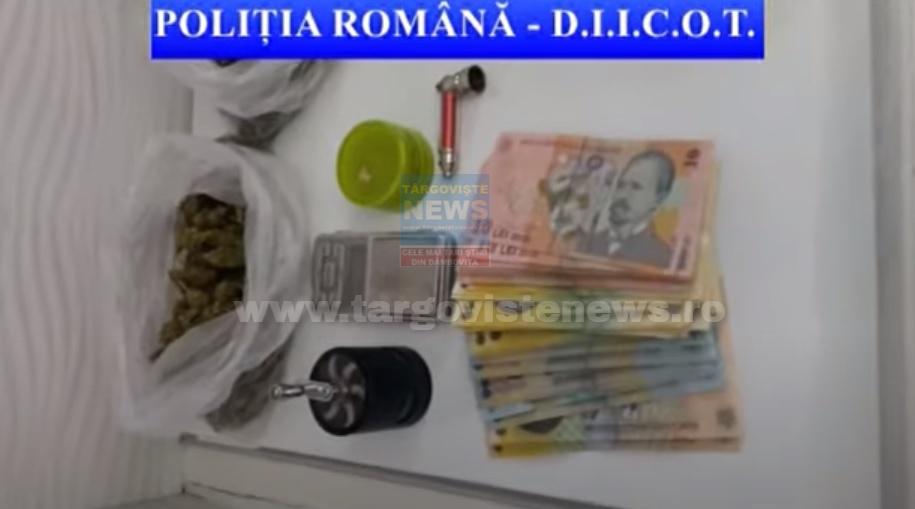 VIDEO – Droguri ascunse în ambalaje de detergent. Percheziţii în 13 locaţii