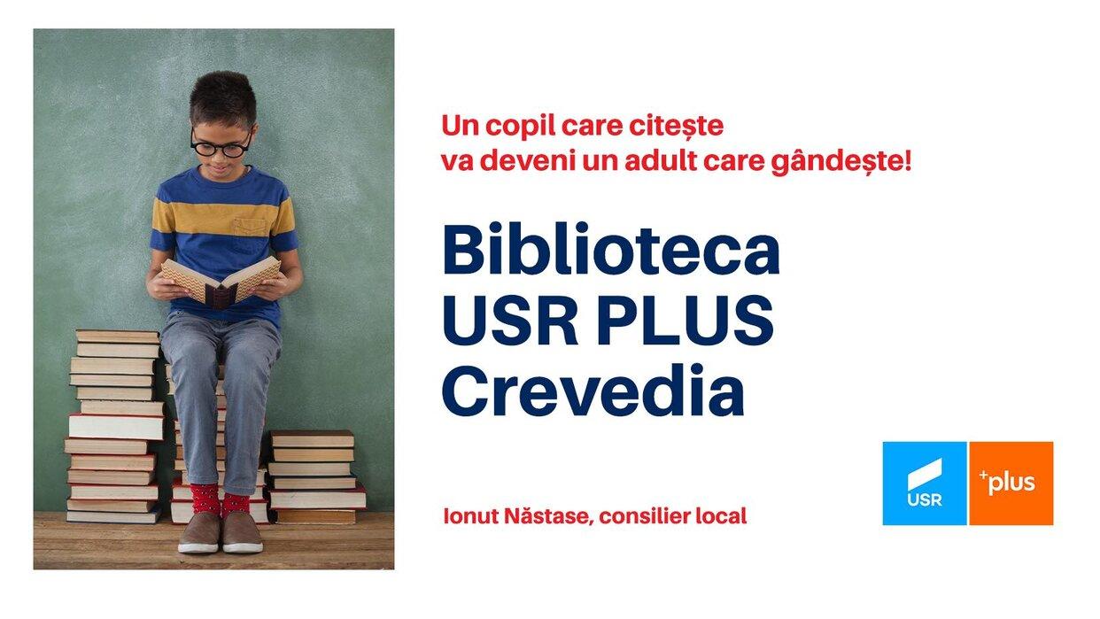 """USRPLUS Crevedia dă startul unei campanii inedite – """"Îți aducem cartea preferată acasă!"""""""